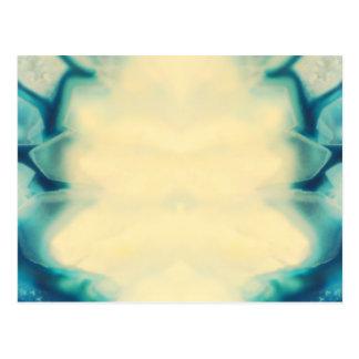 Blank Custom Elegant Jewel Blue Save The Date Postcard