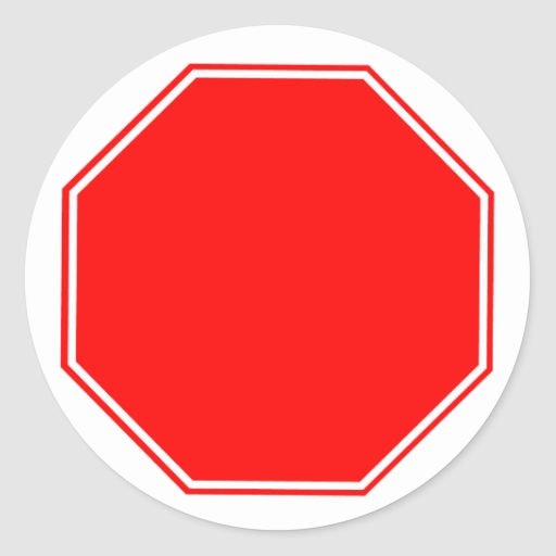 2 sticker template - Blank Stop Sign Template Images Amp Pictures Becuo
