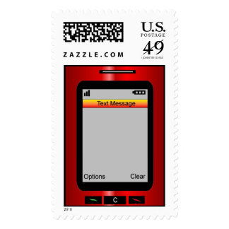 Blank...Customize your own Text Message! Postage Stamps