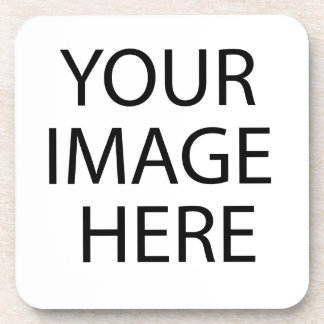 Blank Design Custom Text or Image Coaster