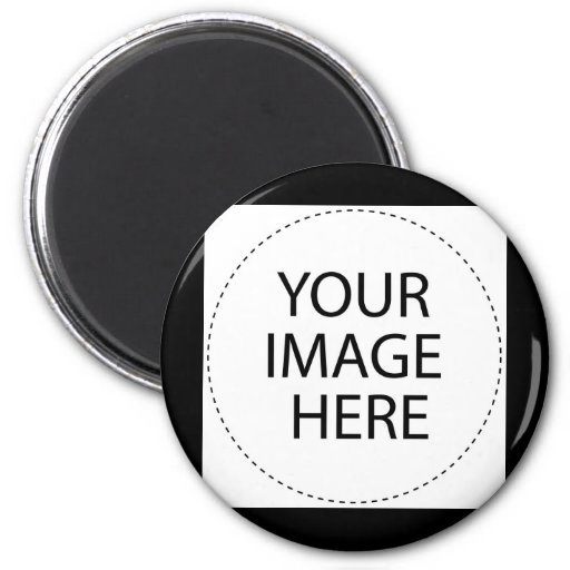 BLANK - DESIGN YOUR OWN - CREATE YOUR OWN 2 INCH ROUND MAGNET