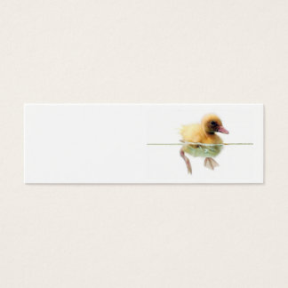 Blank Duck In the Water Skinny Profile Card