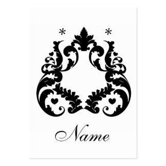 Blank Earring cards Large Business Cards (Pack Of 100)