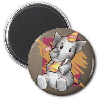 Blank Elephant Magnet
