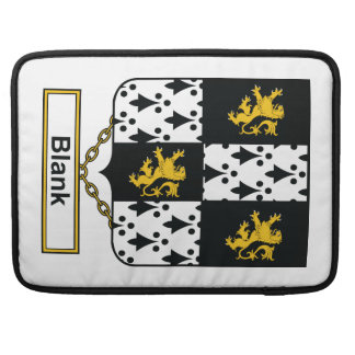 Blank Family Crest Sleeve For MacBook Pro