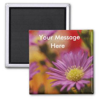 Blank Floral Magnet
