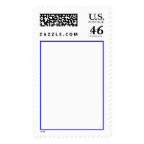 Blank frame vertical postage