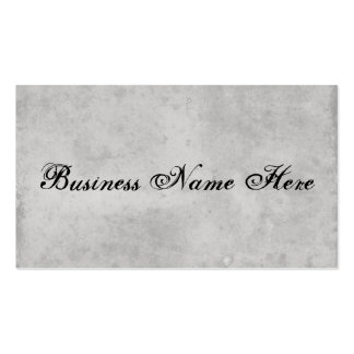 Blank Gray Vintage Dark Aged Stained Paper Double-Sided Standard Business Cards (Pack Of 100)