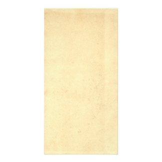 Blank Grungy Stained Parchment Background Card