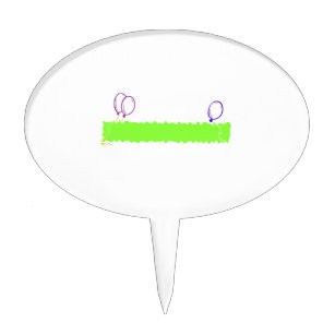 blank cake toppers zazzle