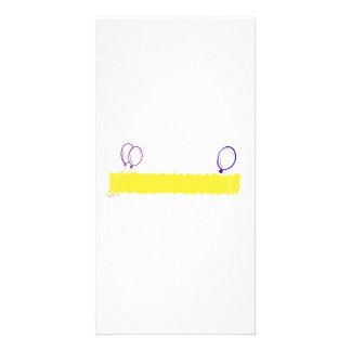 Blank Happy Birthday Banner Card