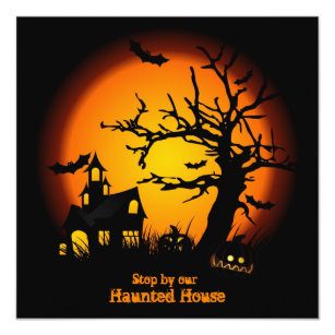 blank halloween invitations zazzle