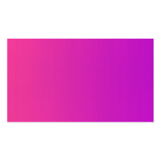 Blank in front pink business card