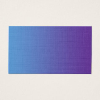 Blank in front simple purple blue business card