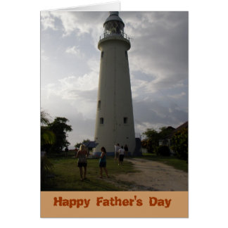 Blank Inside Happy Father's Day Card