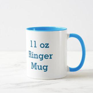 Blank Item You Personalize A07 BLUE Mug