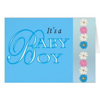 Blank | It's a Baby Boy! Card