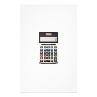 Blank list with Euro and calculator Stationery Design