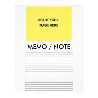 Blank Memo Note Form