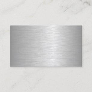 Metallic business cards templates zazzle blank metallic looking business cards colourmoves