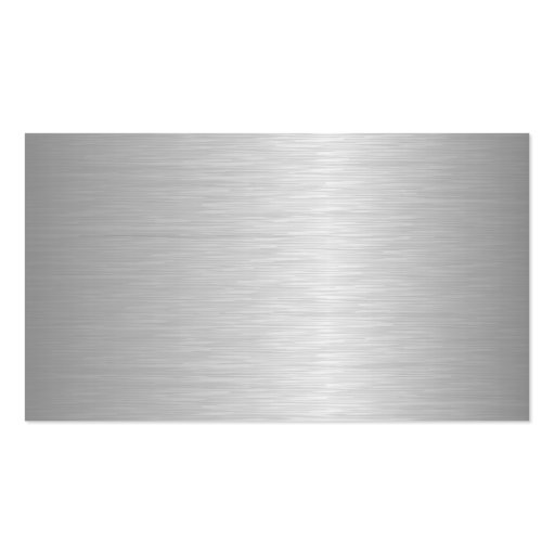 Blank Metallic Looking Business Cards (front side)