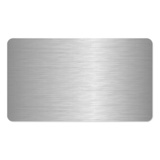 Aluminum Business Cards & Templates