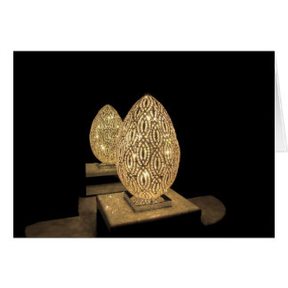 Blank Note Card--Lighted Egg Card