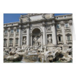 Blank Note Card--Trevi Fountain
