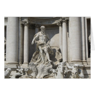Blank Note Card--Trevi Fountain Stationery Note Card