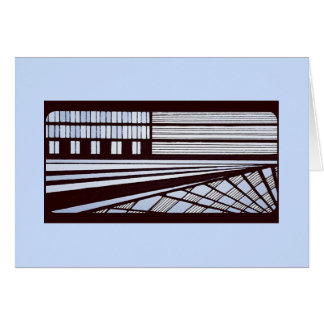 Blank Note Card (Urban Perspective)