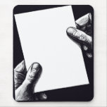 blank note paper mouse pads