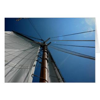 Blank Notecard_ Sailing Card