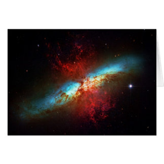 Blank notelet - A Starburst Galaxy Card