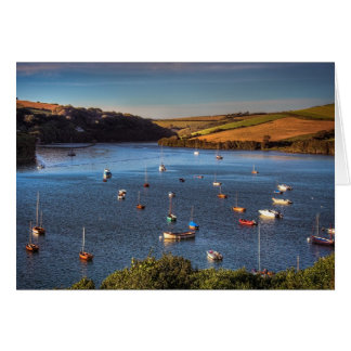 Blank Notelet - River Avon at Bantham Card