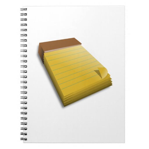 Blank Notepad Notebook