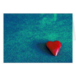 blank paper products red heart card