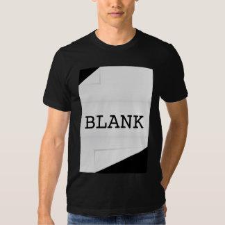 Blank Paper Tee Shirt
