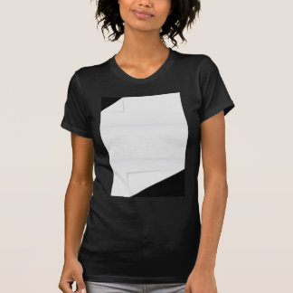 Blank Paper With Folded Corners Tee Shirt