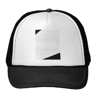 Blank Paper With Folded Corners Trucker Hat