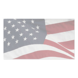 American flag business cards templates zazzle for Patriotic business card template