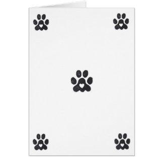 Blank Pet Love Note Card