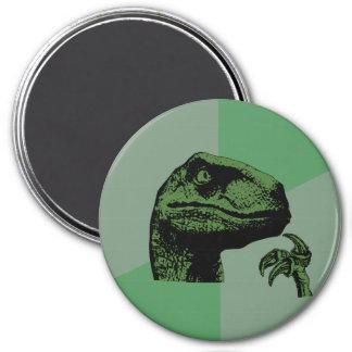 Blank Philosoraptor 3 Inch Round Magnet