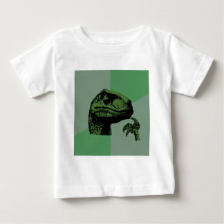 Blank Philosoraptor Baby T-Shirt