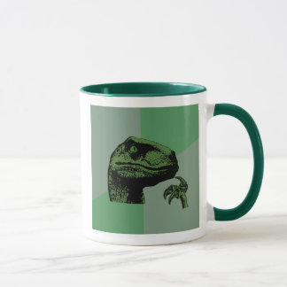 Blank Philosoraptor Mug