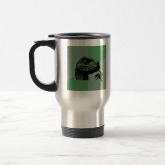 Blank Philosoraptor Travel Mug