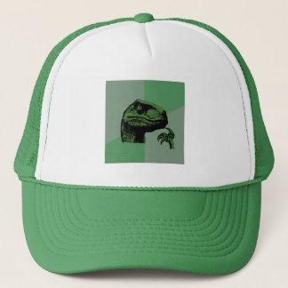 Blank Philosoraptor Trucker Hat