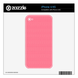 Blank Pink Texture Template diy ADD Text Image 99 iPhone 4 Skins