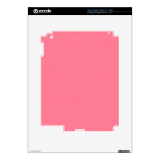 Blank Pink Texture Template diy ADD Text Image 99 Skins For iPad 2