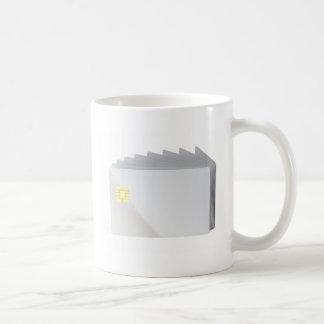 Blank plastic cards with chip coffee mug