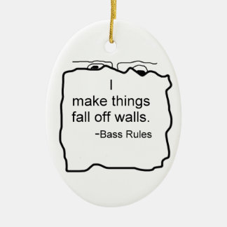 Blank product for your own design! ceramic ornament